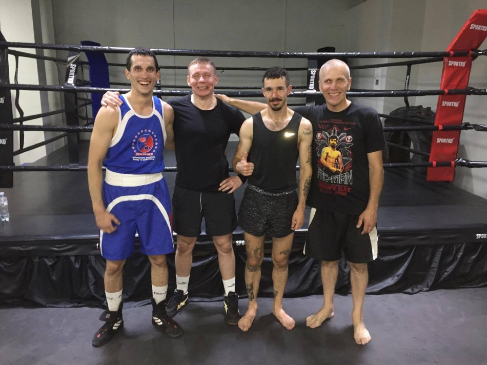 boxing camp ukraine